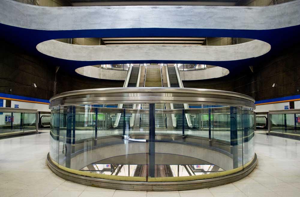 Valdezarza station skylights