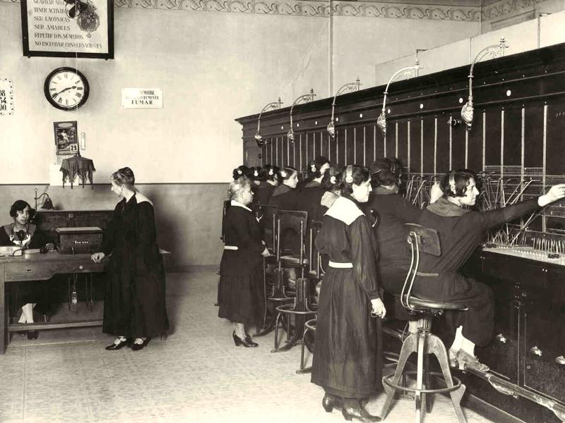 The telephone operators
