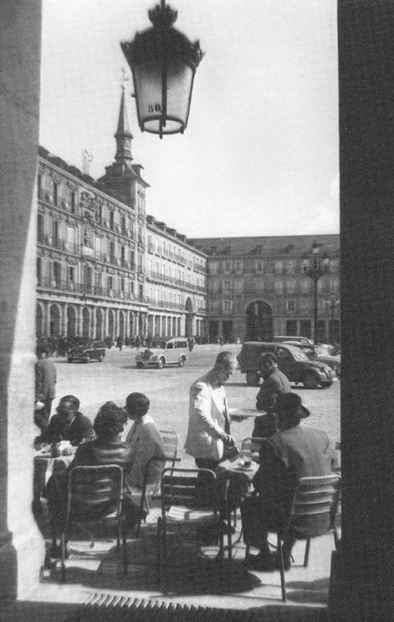 Plaza Mayor in the 1970s