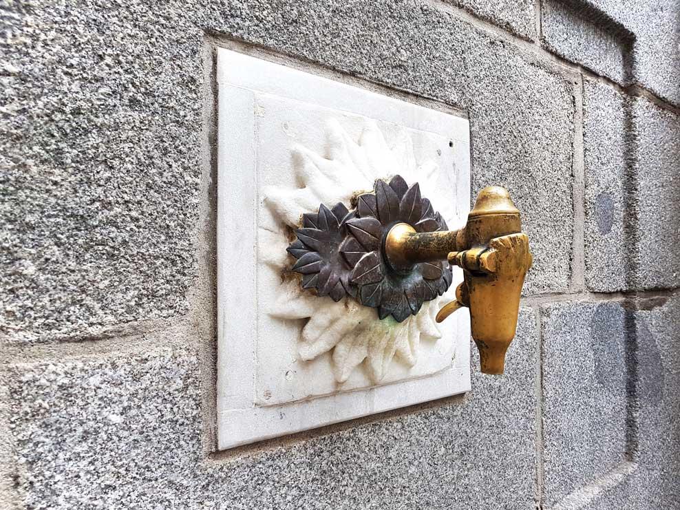 La Fuentecilla taps