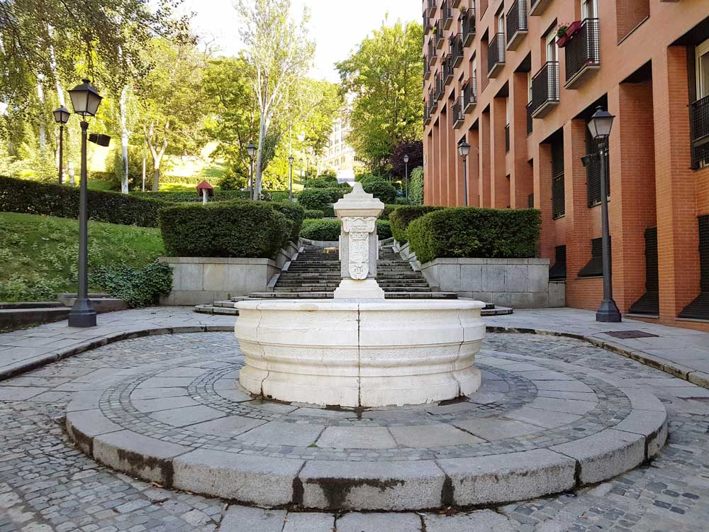 Jardín Muralla Árabe