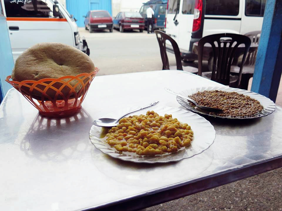 Lunch in Sidi Ifni