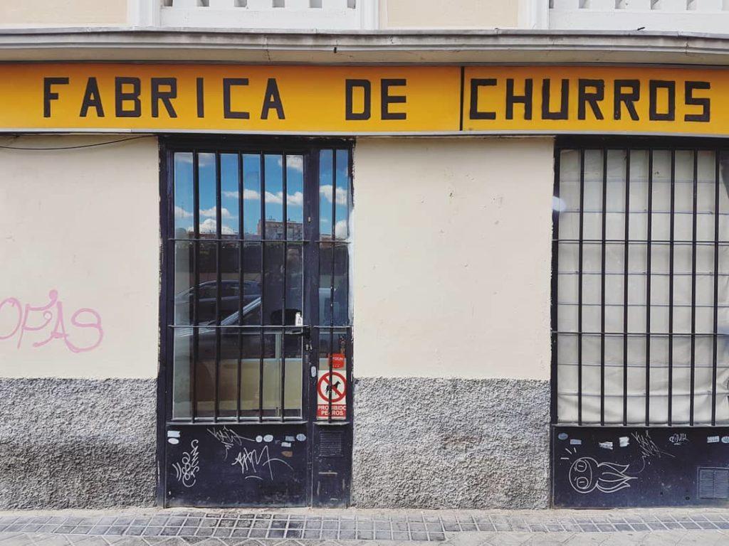 The neighbourhood churro shop
