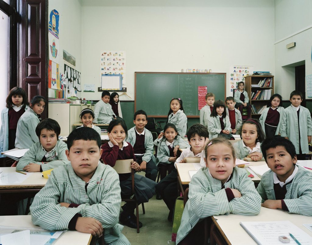 CEIP San Ildefonso, Madrid, Spain. Year 2 Primary, Reading and Writing, 5 December 2007