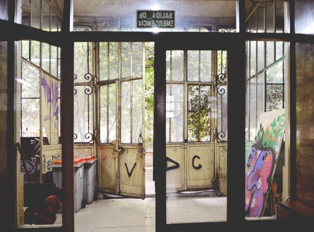The doors to the secret garden