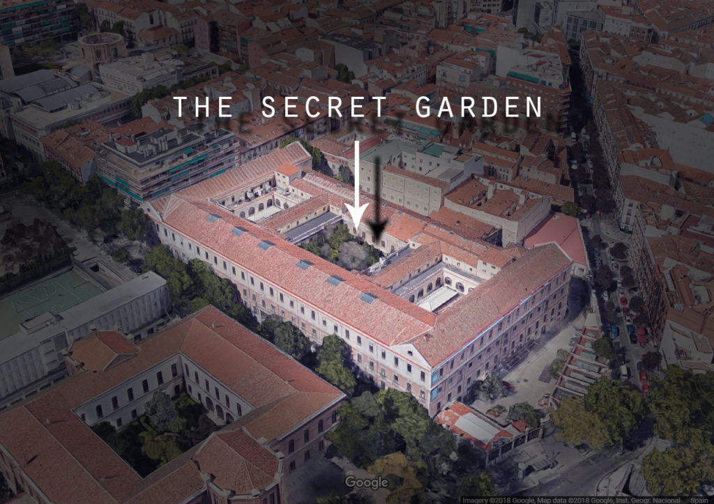 The Tabacalera's secret garden