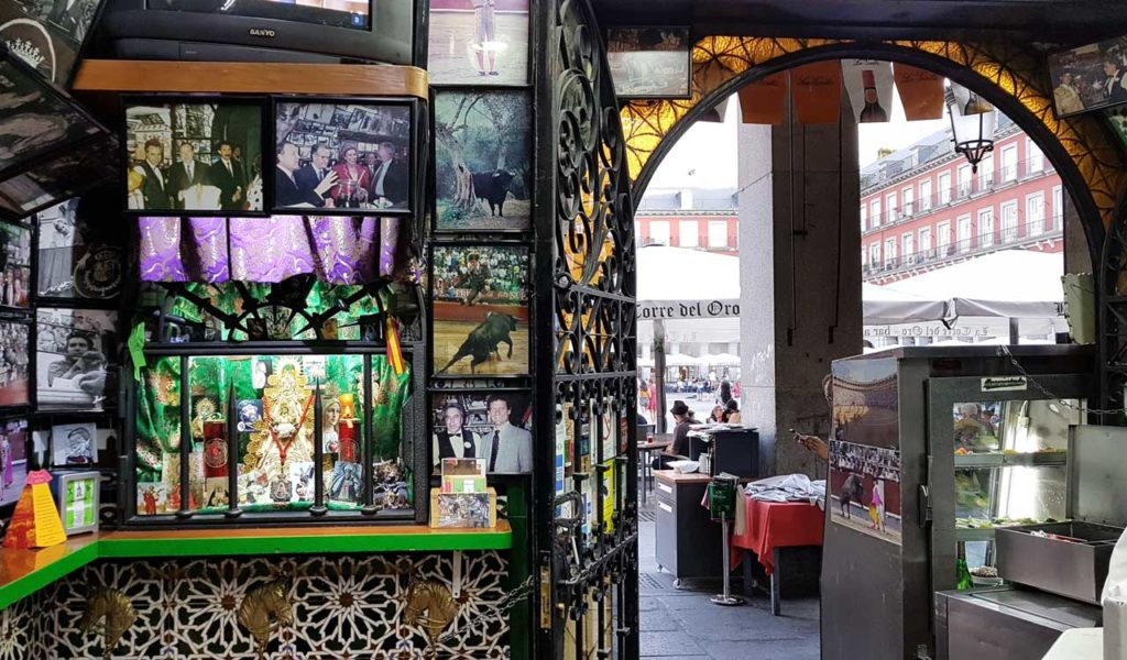 Inside La Torre del Oro