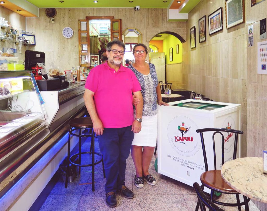 Owners, Pedro and Paloma