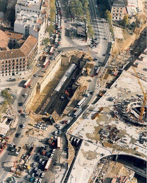 Atocha station, 1986