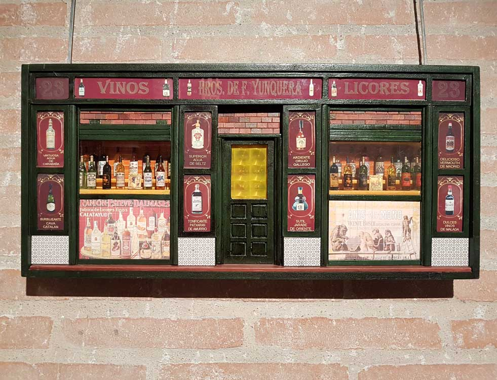 An old wine and liquor store