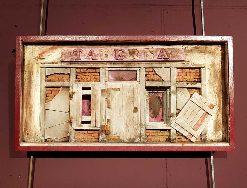 An abandoned taberna