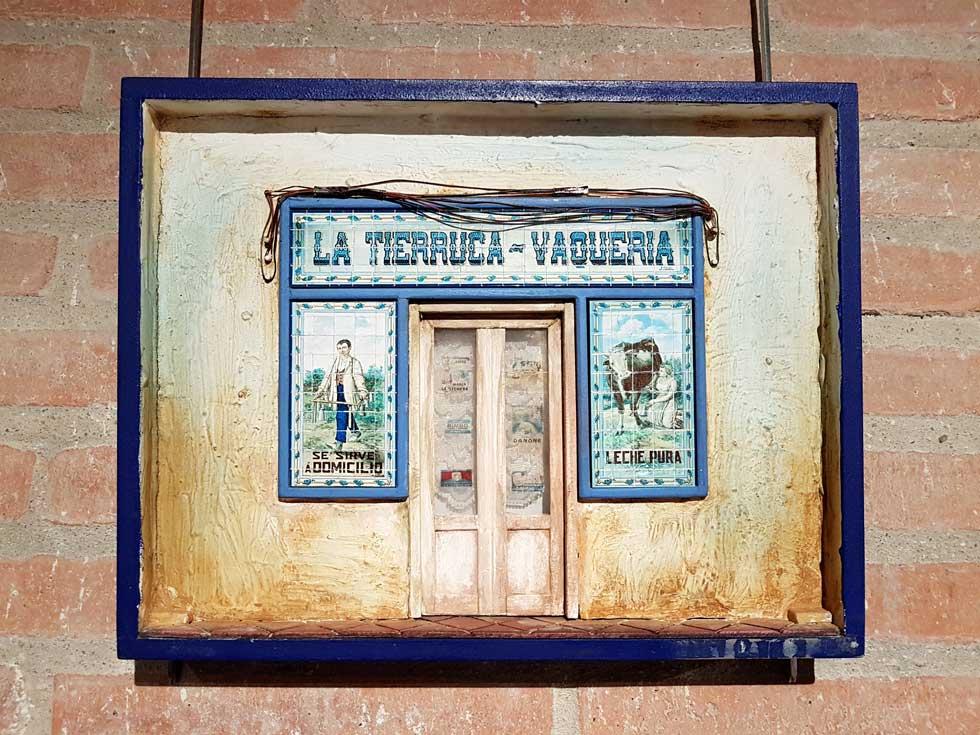 The Vallecas dairy store