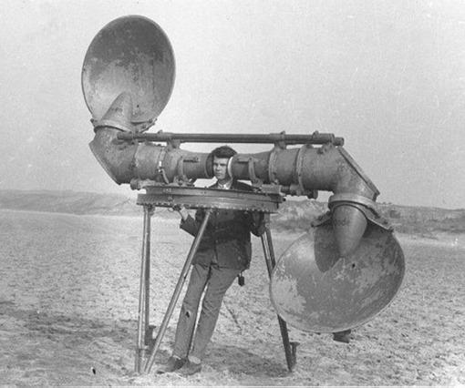 Enemy planes detectors