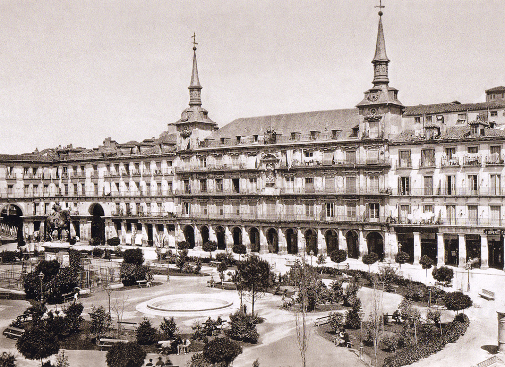 Plaza Mayor, 1860