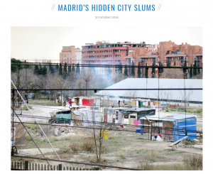 Our Madrid's City Slums article featured in the Guardian Cities weekly newsletter