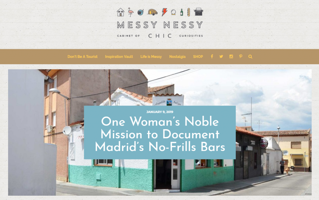 One Woman's Noble Mission to Document Madrid's No-Frills Bars