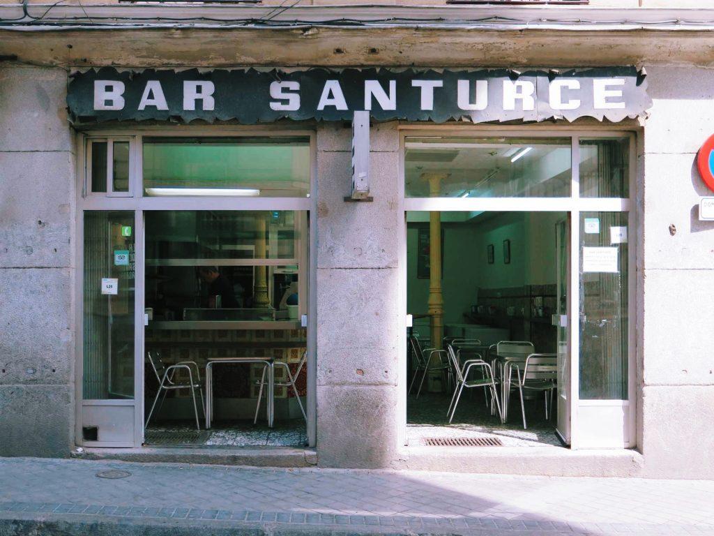 This image has an empty alt attribute; its file name is Bar-Santurce-facade-1024x768.jpg